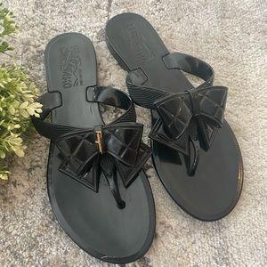 Salvatore ferragamo jelly sandals